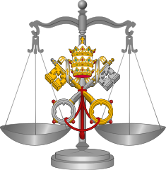 Scales of Justice, Canon Law
